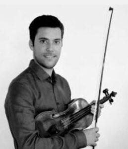 Hector Morcillo Sanchez, aanvoerder tweede violen